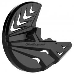 Priekinio stabdžų disko ir šakių apsauga POLISPORT PERFORMANCE Black/black