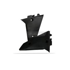 Radiator scoops POLISPORT (pair) , juodos spalvos