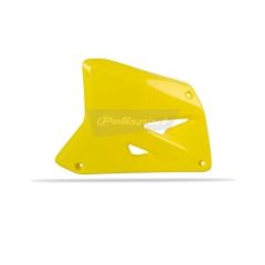 Radiator scoops POLISPORT (pair) yellow RM 01