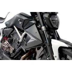 Radiator side panels PUIG 7561J matinė juoda stickers included