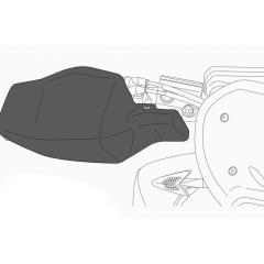Rankų apsaugos PUIG MOTORCYCLE 8939J matinė juoda