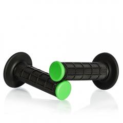 Rankenos skirtos motokrosui MOTION STUFF , juodos su žaliais galais