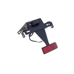 Reguliuojamas numerių laikiklis PUIG 4949N , juodos spalvos