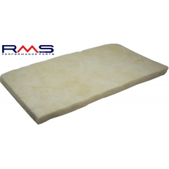 Rock wool sheet RMS for scooter silencers