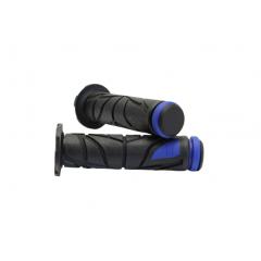 Scooter grip MOTION STUFF , juodos su mėlynais galais