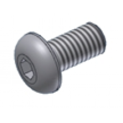 Screw MIVV 50.73.459.1 M5 X 8 (Button)