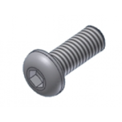 Screw MIVV 50.72.024.1 M6 X 12 (Button)