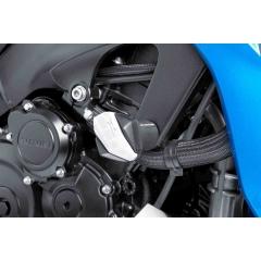 Spare rubber end protector PUIG R12 6378B , baltos spalvos