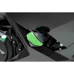 Spare rubber end protector PUIG R12 6378V žalia