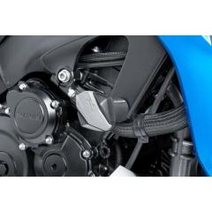 Spare rubber end protector PUIG R12 6378U grey