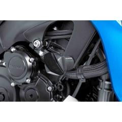 Spare rubber end protector PUIG R12 6378N , juodos spalvos