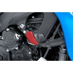 Spare rubber end protector PUIG R12 6378R , raudonos spalvos