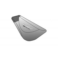 Spare rubber ends PUIG PRO 5533P , sidabrinės spalvos