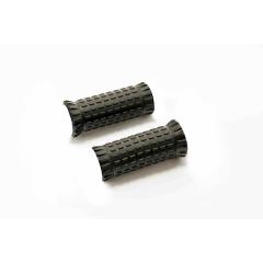 Spare rubbers PUIG R-FIGHTER S 9335U , juodos spalvos