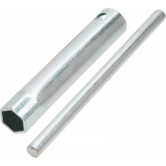 Spark plug wrench RMS with pin 21x120