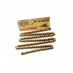 Sportui skirta grandinė D.I.D Chain 520MX , 120 narelių ilgio , auksas-juoda spalvos