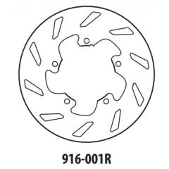 Stabdžių diskas GOLDFREN 916-001R galinis 175 mm