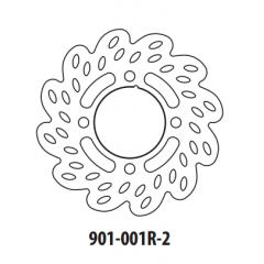 Stabdžių diskas GOLDFREN 901-001R-2 galinis 190,7 mm