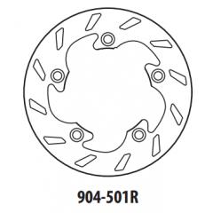 Stabdžių diskas GOLDFREN 904-501R galinis 210 mm