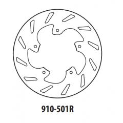 Stabdžių diskas GOLDFREN 910-501R galinis 220 mm