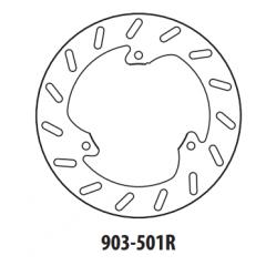 Stabdžių diskas GOLDFREN 903-501R galinis 230 mm