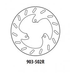 Stabdžių diskas GOLDFREN 903-502R galinis 230 mm