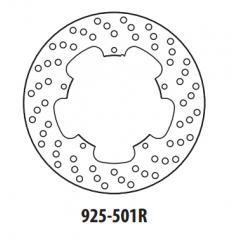 Stabdžių diskas GOLDFREN 925-501R galinis 240 mm