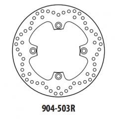 Stabdžių diskas GOLDFREN 904-503R galinis 250 mm
