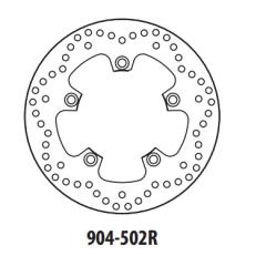 Stabdžių diskas GOLDFREN 904-502R galinis 250 mm