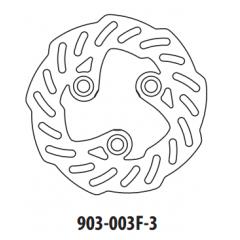 Stabdžių diskas GOLDFREN 903-003F-3 priekinių 155 mm