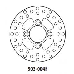 Stabdžių diskas GOLDFREN 903-004F priekinių 160,6 mm