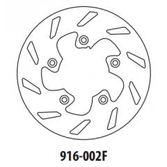 Stabdžių diskas GOLDFREN 916-002F priekinių 173,5 mm