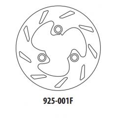 Stabdžių diskas GOLDFREN 925-001F priekinių 180 mm