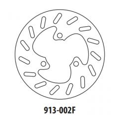 Stabdžių diskas GOLDFREN 913-002F priekinių 190 mm