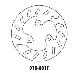 Stabdžių diskas GOLDFREN 910-001F priekinių 190 mm