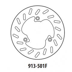 Stabdžių diskas GOLDFREN 913-501F priekinių 218 mm