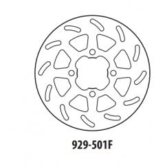 Stabdžių diskas GOLDFREN 929-501F priekinių 220 mm