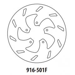 Stabdžių diskas GOLDFREN 916-501F priekinių 220 mm