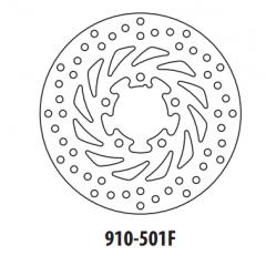Stabdžių diskas GOLDFREN 910-501F priekinių 220 mm