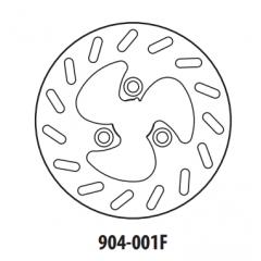 Stabdžių diskas GOLDFREN 904-001F priekinių 220 mm