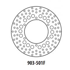 Stabdžių diskas GOLDFREN 903-501F priekinių 245 mm