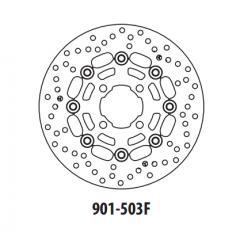 Stabdžių diskas GOLDFREN 901-503F priekinių 249 mm