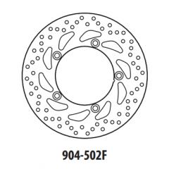 Stabdžių diskas GOLDFREN 904-502F priekinių 260 mm