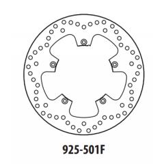 Stabdžių diskas GOLDFREN 925-501F priekinių 260 mm
