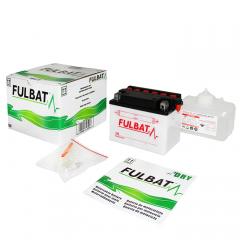Standartinis akumuliatorius (su rūgšties pakuote) FULBAT 6N11A-1B