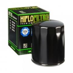 Tepalo filtras HIFLOFILTRO RACING , juodos spalvos