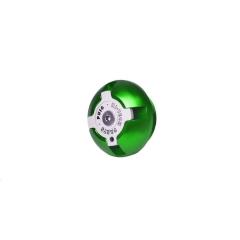 Tepalo nuleidimo varžtas PUIG 6156V žalia M19x2,5
