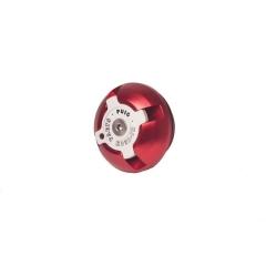 Tepalo nuleidimo varžtas PUIG 6778R , raudonos spalvos M24x2