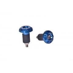 Universal bar ends PUIG RACE , mėlynos spalvos D 13-18mm
