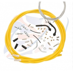 Universalūs akseleratoriaus trosai Venhill for 888 , geltonos spalvos